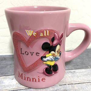 Minnie Mouse Disney We All Love Minnie 3D Mug